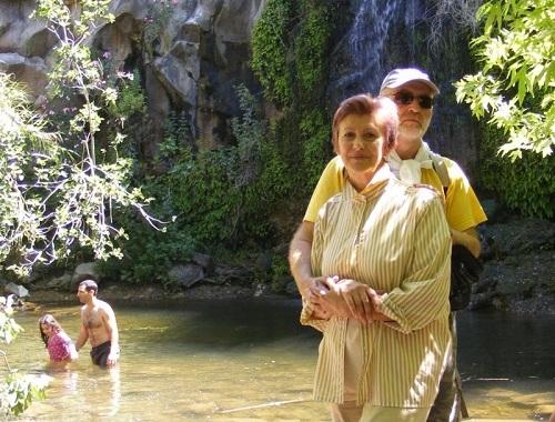Валентина и Александр. Кармиэль. Израиль