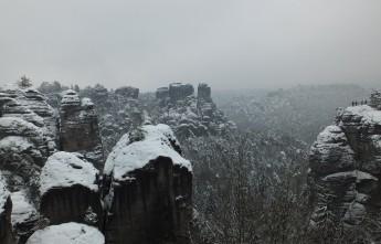Бастей. Зима. Январь. Саксония.