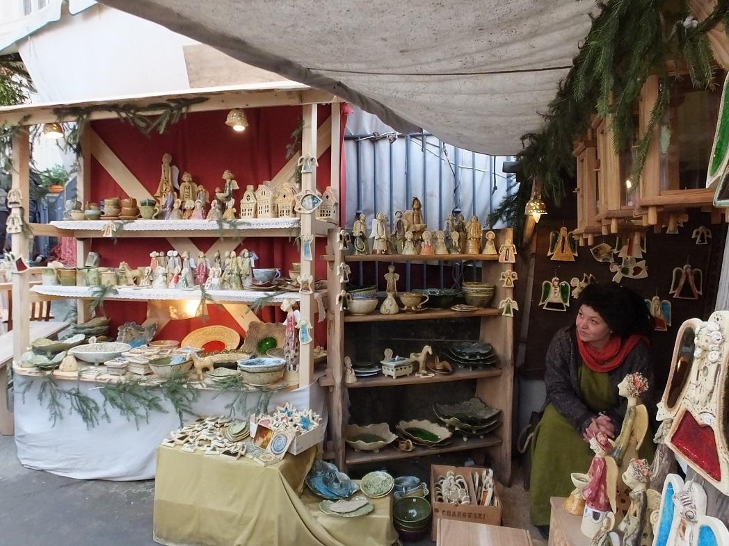 Средневековая ярмарка в Дрездене.