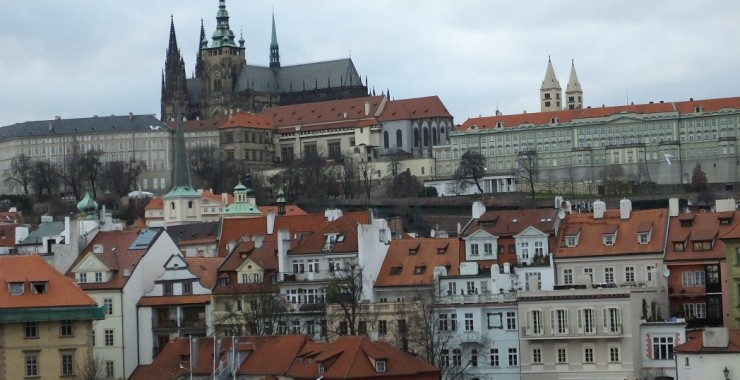 Аркадий и Света. Тур. Прага.