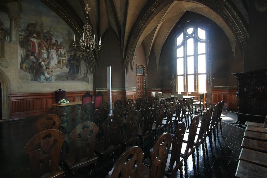 Зал собраний. Альбрехтсбург. Мейсен.