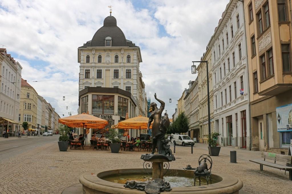 Знаменитый фонтан «Мушельминна»