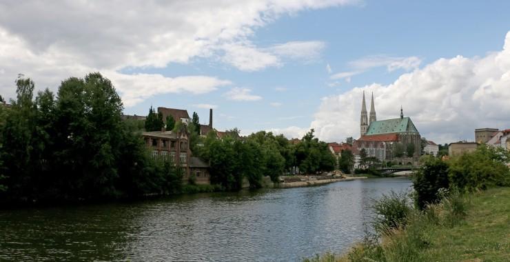 Вид на собор Святого Петра в Герлице.