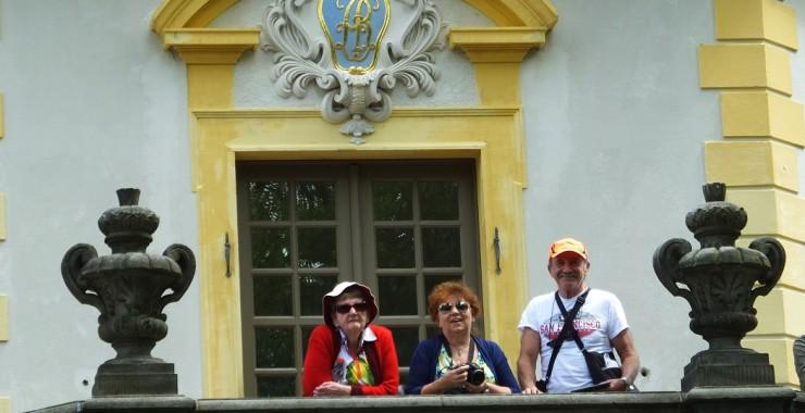 Ирина, Валя и Роман. Германия.