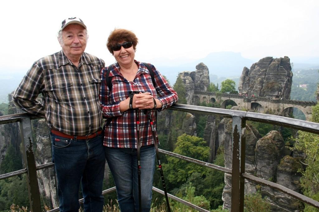 Аня и Илья. Саксонская Швейцария.