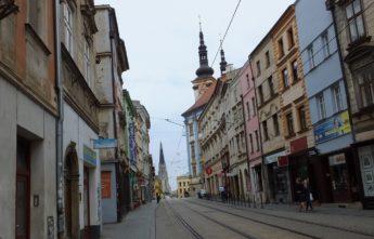 Улица Оломоуца. Организованный тур в Моравию и Вену.