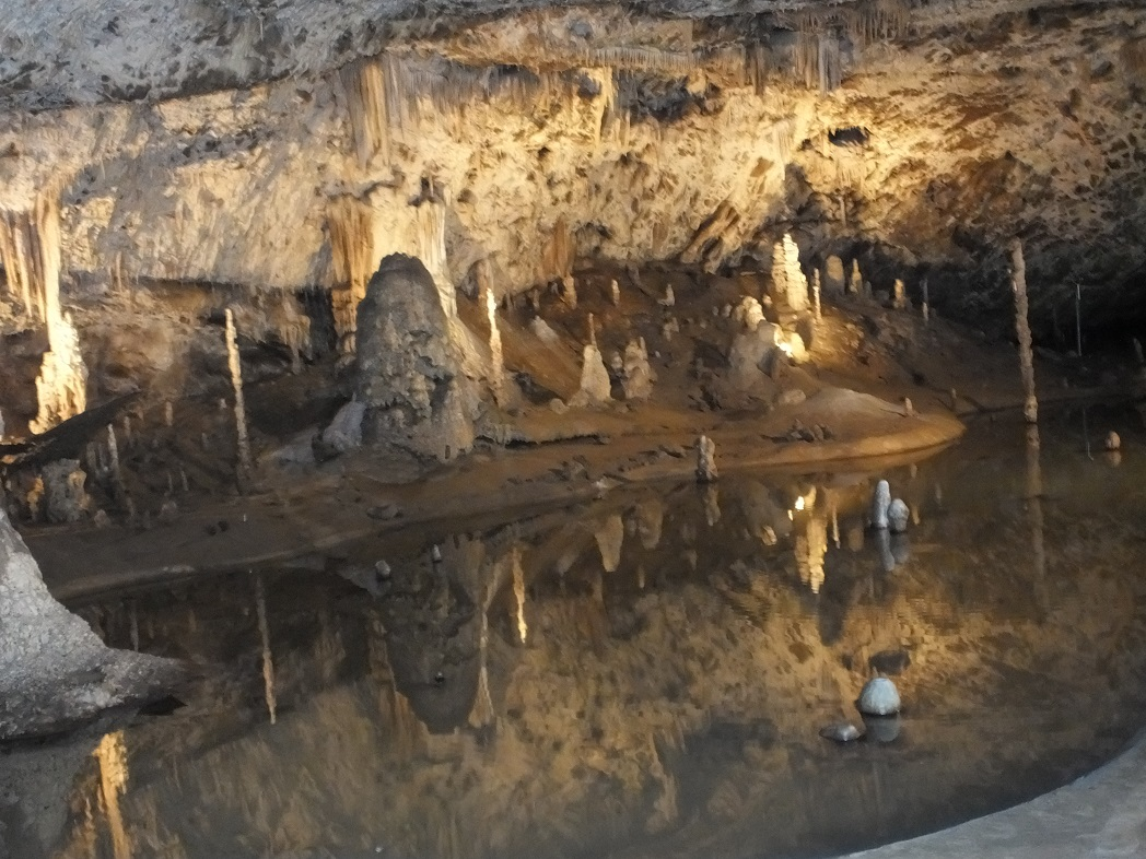 Подземный мир Моравии.