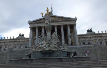 Парламент. Вена. Тур Австрия и Моравия.