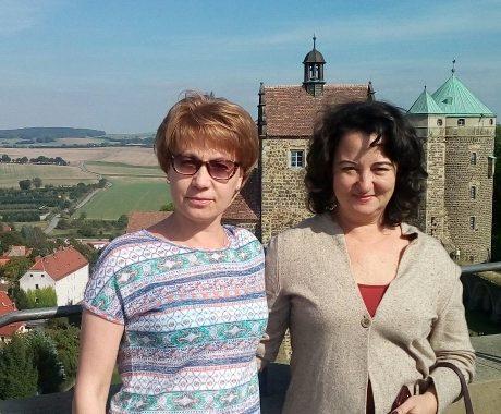 Ольга и Наталия. Штольпен. Тур в Германию.