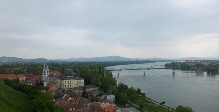 Вид на Дунай. Эстергом.