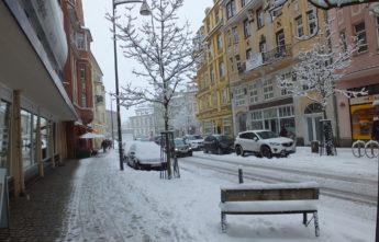 Зима. Улица. Баутцен. Саксония.